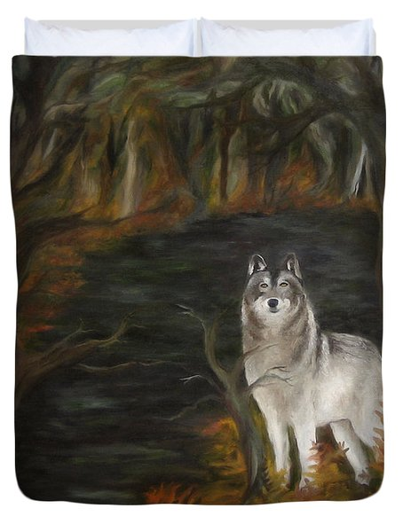 Water Dark Duvet Cover