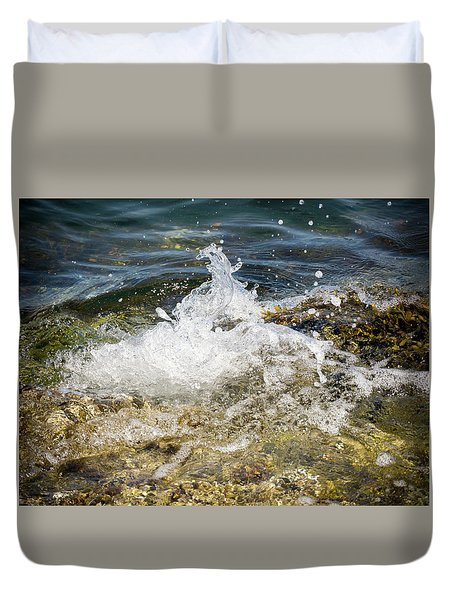 Water Elemental Duvet Cover