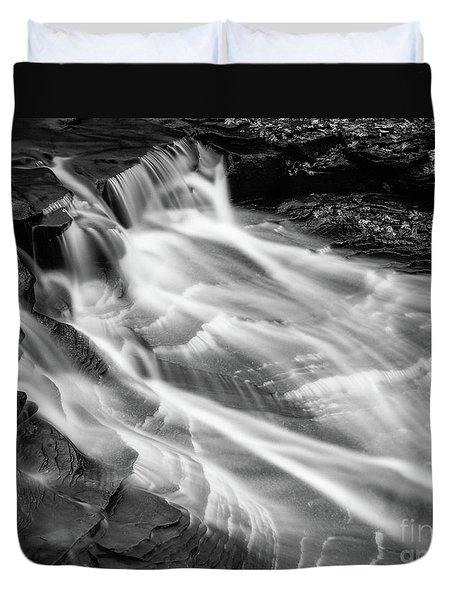 Water Falls Duvet Cover