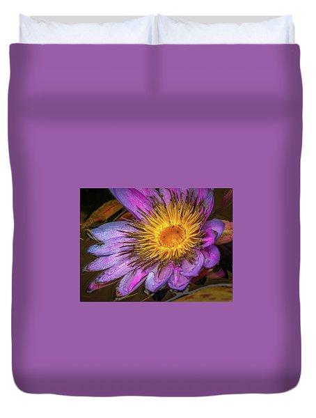 Water Flower Duvet Cover