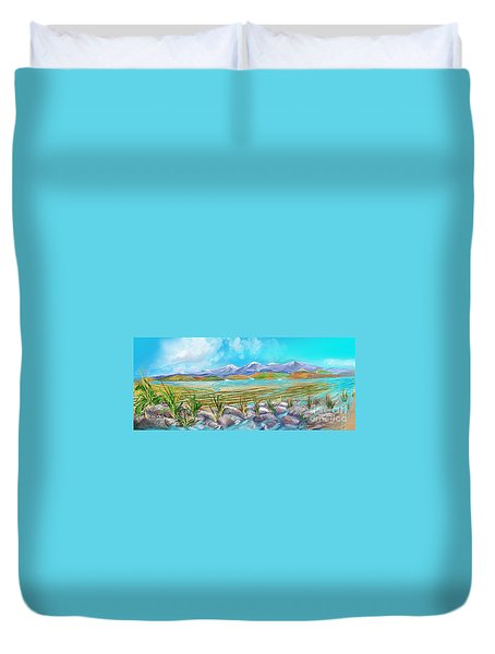 Water For Irrigation  Duvet Cover