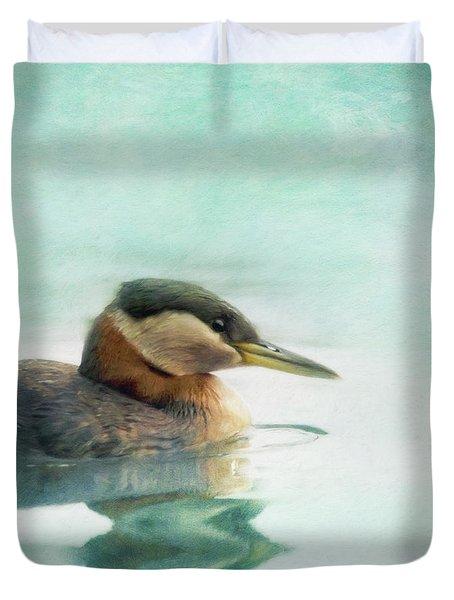 Water Fowl Duvet Cover