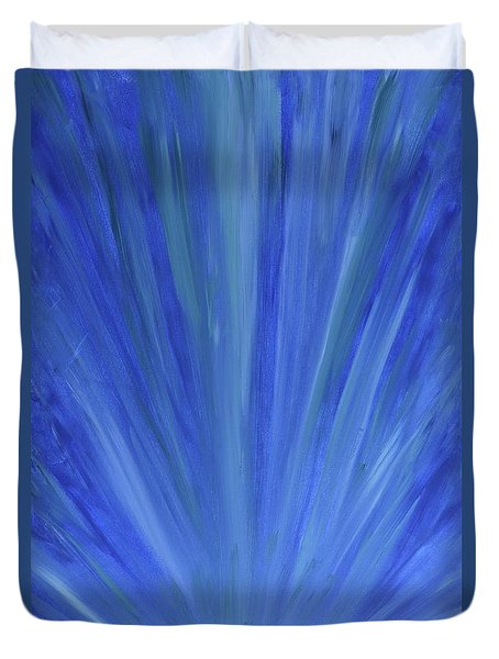 Water Light Duvet Cover