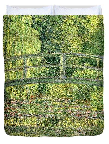 Water Lilies Claude Oscar Monet Duvet Cover