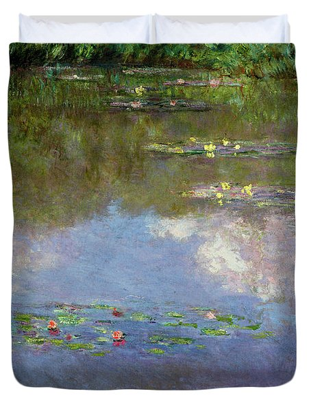 Water Lilies, The Cloud, 1903 Duvet Cover