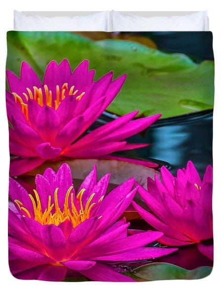 Water Lillies 15-1 Duvet Cover