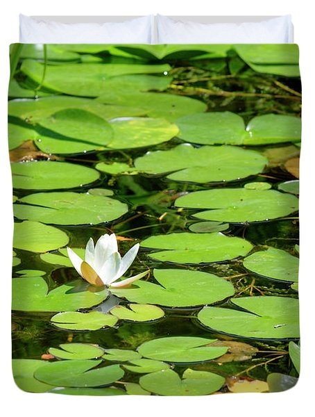 Water Lillies Duvet Cover