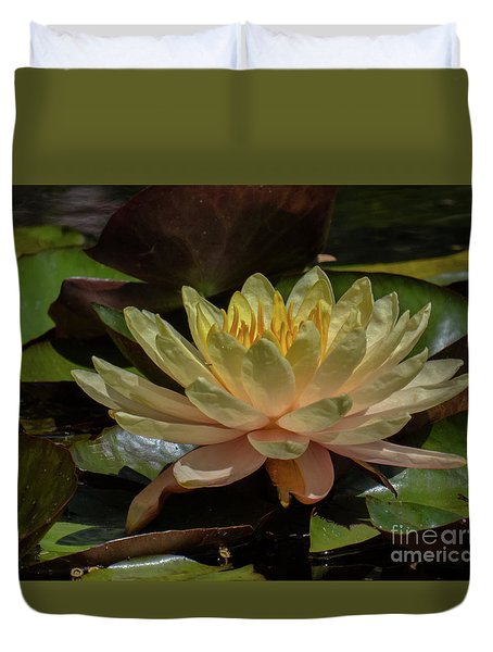 Water Lilly 1 Duvet Cover