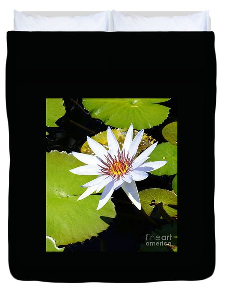 Water Lily 10 Duvet Cover