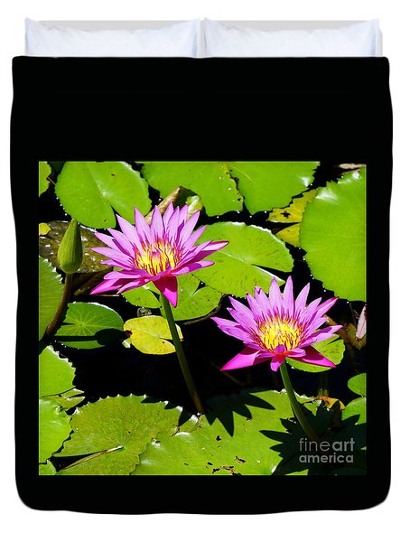Water Lily 11 Duvet Cover
