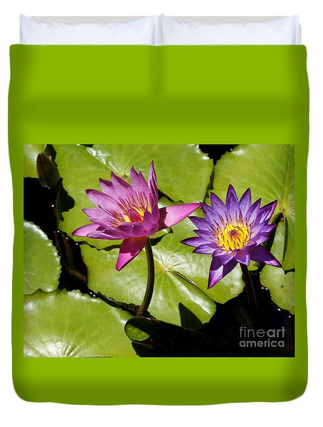 Water Lily 14 Duvet Cover