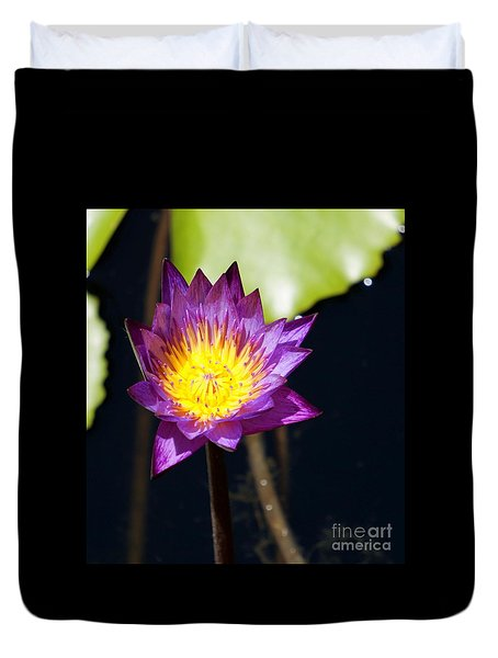 Water Lily 15 Duvet Cover