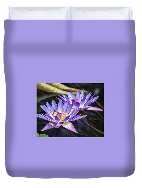 Water Lily 2 Duvet Cover