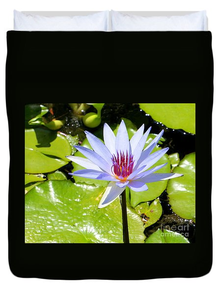 Water Lily 4 Duvet Cover
