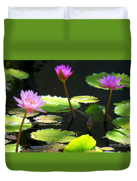 Water Lily 5 Duvet Cover