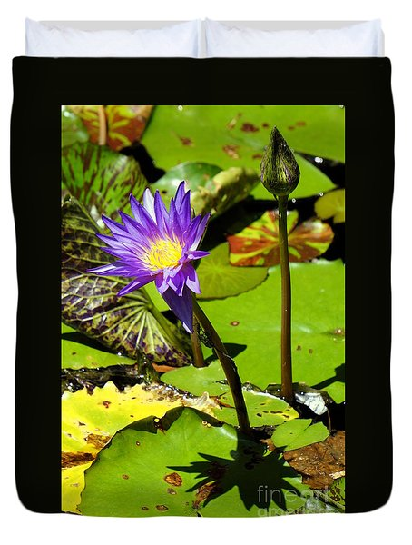 Water Lily 6 Duvet Cover