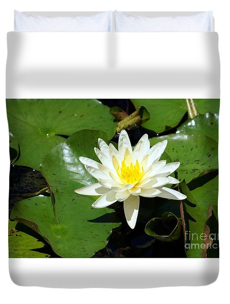 Water Lily 7 Duvet Cover
