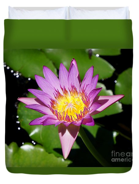 Water Lily 8 Duvet Cover