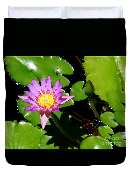 Water Lily 9 Duvet Cover
