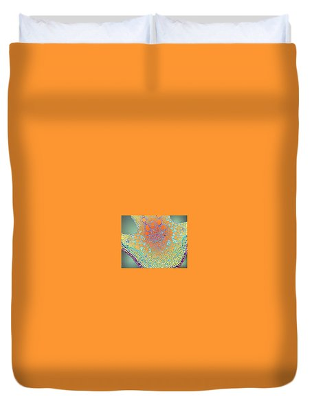 Water Lily Homage Duvet Cover