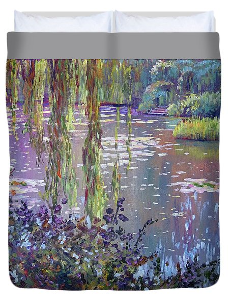 Water Lily Pond Giverny Duvet Cover