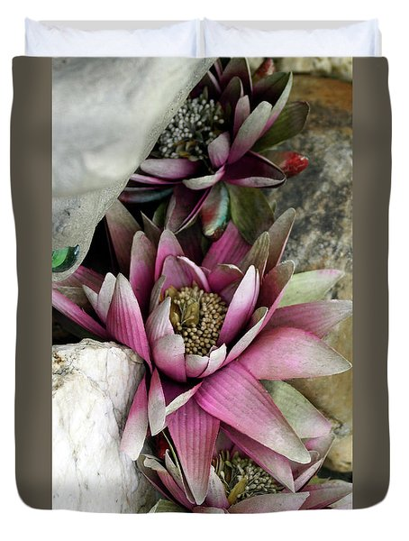 Water Lily - Seerose Duvet Cover