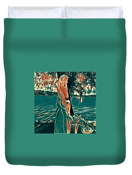 Water Nymph Duvet Cover