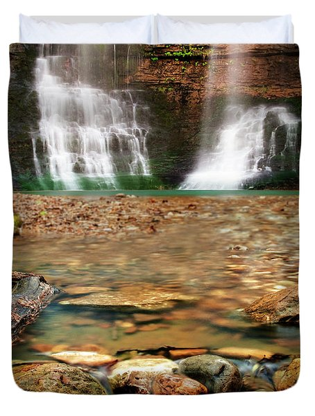 Water Path Duvet Cover by Tamyra Ayles