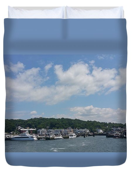 Duvet Cover featuring the photograph Water by Paul SEQUENCE Ferguson             sequence dot net