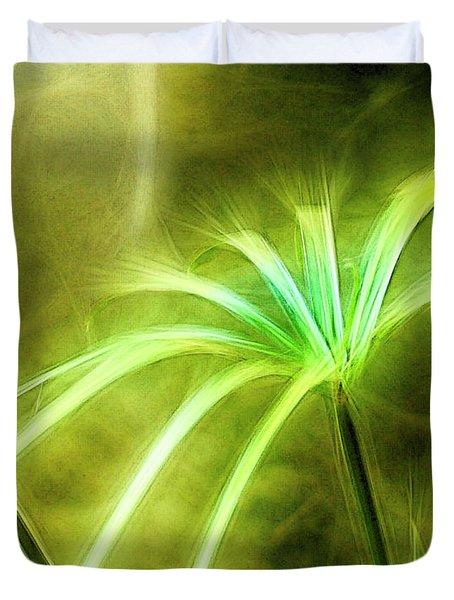 Water Plants Duvet Cover
