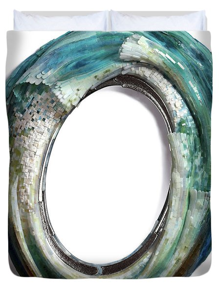 Water Ring I Duvet Cover