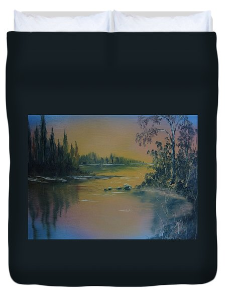Water Scene 2a Duvet Cover