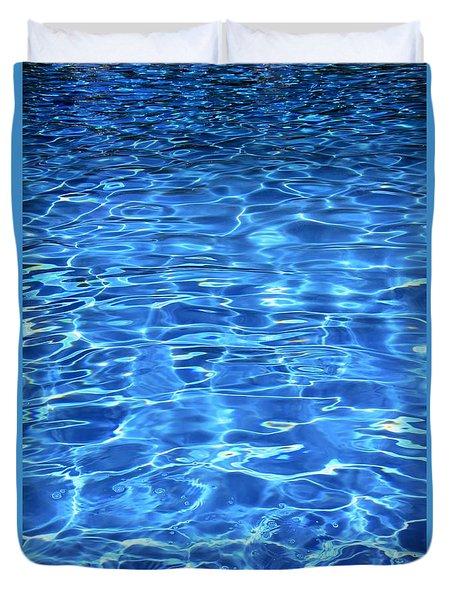 Water Shadows Duvet Cover