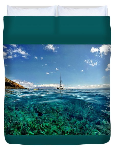 Water Shot Duvet Cover