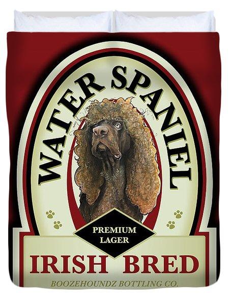Water Spaniel Irish Bred Premium Lager Duvet Cover