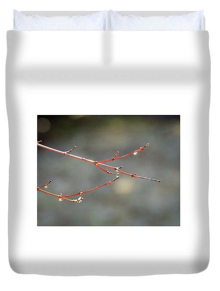 Water Sparkle Duvet Cover