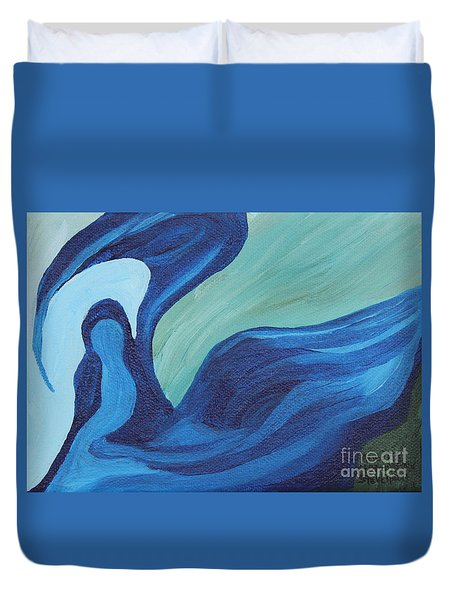 Water Spirit Duvet Cover