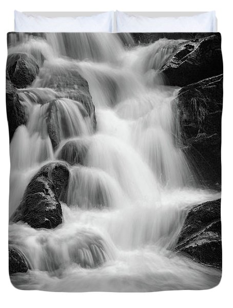 water stair close to the Heinrich Heine hiking way, Harz Duvet Cover