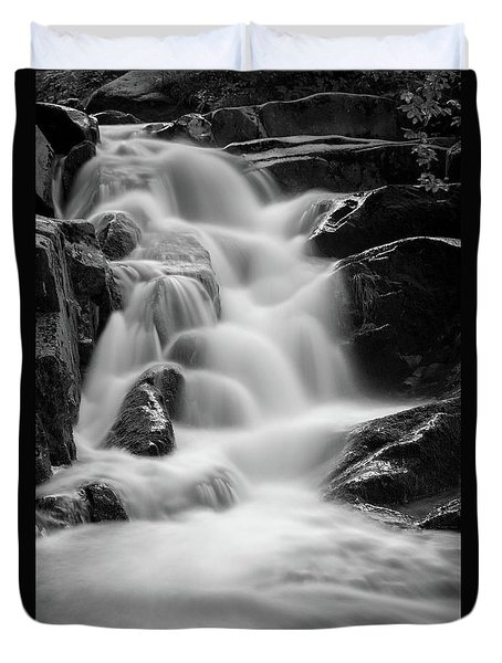water stair in Ilsetal, Harz Duvet Cover by Andreas Levi