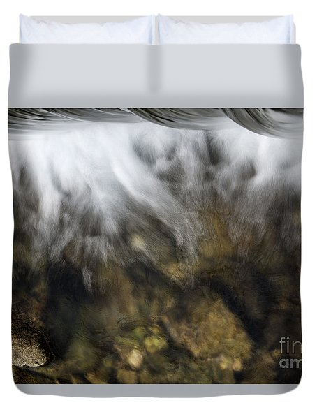 Duvet Cover featuring the photograph Water Symposium by Yuri Santin