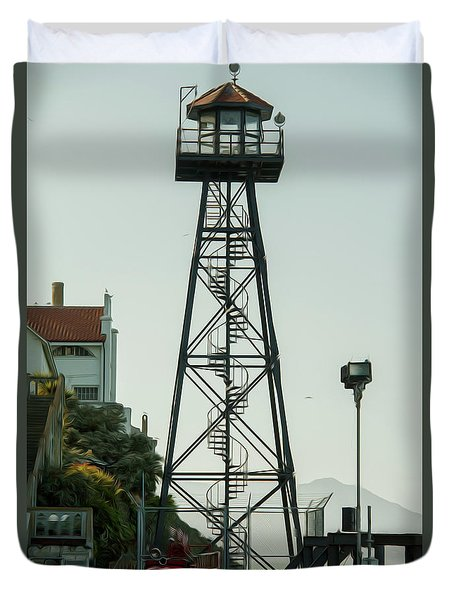 Water Tower Duvet Cover