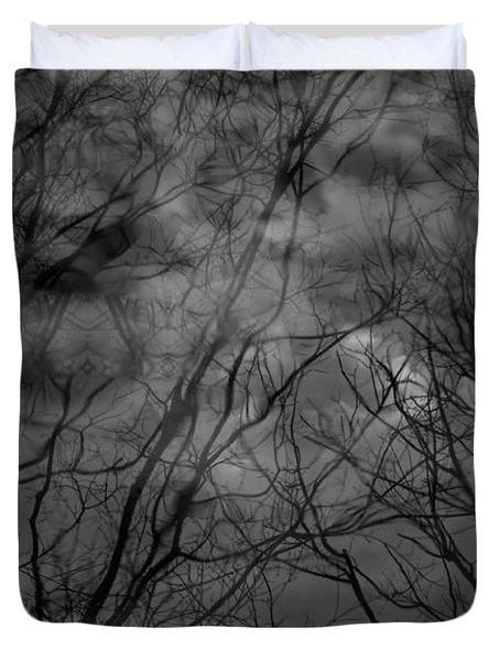 Water Trees Duvet Cover