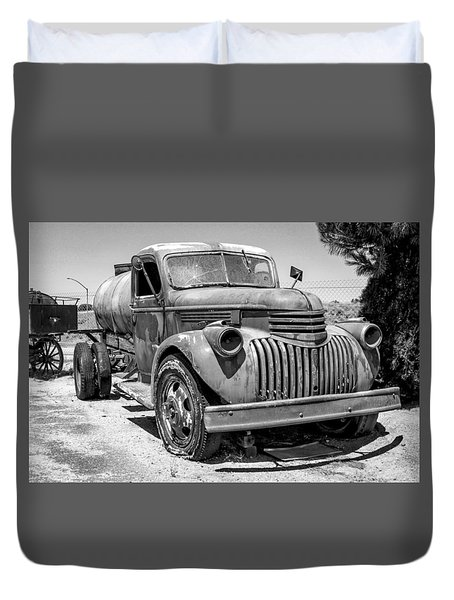 Water Truck - Chevrolet Duvet Cover