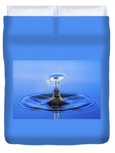 Water Umbrella Duvet Cover