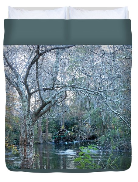 Water Wheel Duvet Cover by Kay Gilley