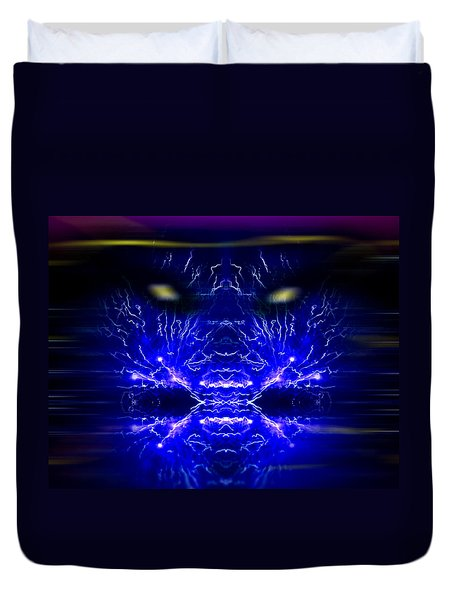 Water Witch Duvet Cover