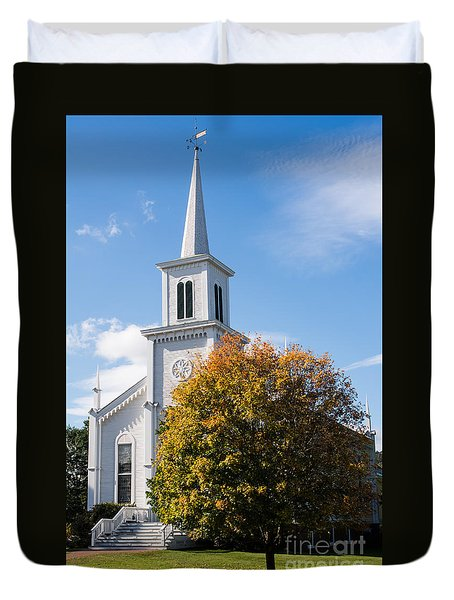 Waterbury Congregational Church, Ucc Duvet Cover