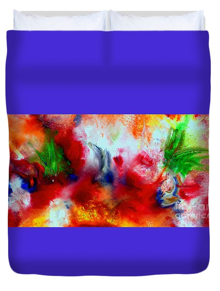 Watercolor Abstract Series G1015a Duvet Cover