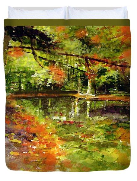 Glendford Pond Duvet Cover