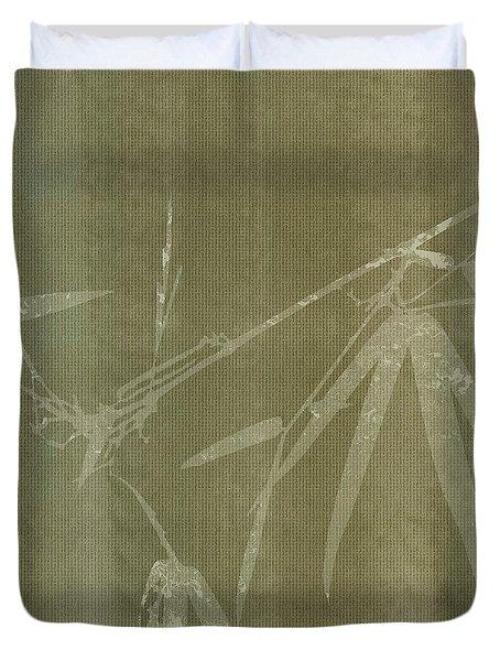 Watercolor Bamboo 01 Duvet Cover